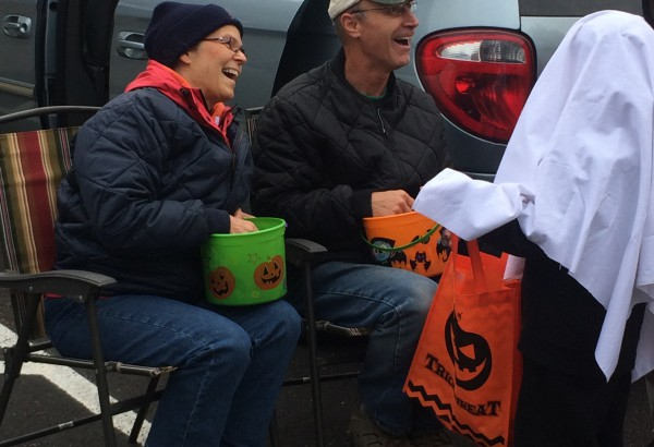 "Berean participated in ""Trunk or Treat"" for Haverhill Elementary School"