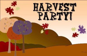 High School Youth Group Harvest Party