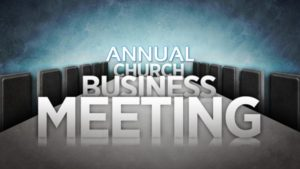 Annual Business Meeting - Pt. 2