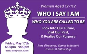 Who I Say I Am - Women's Dinner